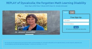 REPLAY of Dyscalculia; the forgotten Math Learning Disability - Internet Explorer 4252016 30813 PM